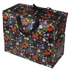 Midnight Garden Design Jumbo Storage Bag