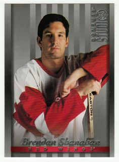 Brendan Shanahan # 6 - 1997-98 Donruss Studio Hockey