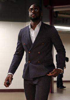 Dwade DB Charcoal Suit