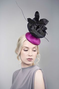 Couture Races Hat - Sabine by MaggieMowbrayHats on Etsy