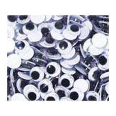 Chenille Kraft Wiggle Eyes 10mm (Set of 4)