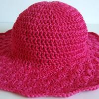 Shell Brimmed Sun Hat