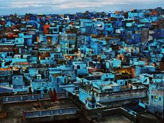 Bid now on Blue City, Jodhpur, India by Steve McCurry. View a wide Variety of artworks by Steve McCurry, now available for sale on artnet Auctions. Steve Mccurry, Magnum Photos, Jodhpur, World Trade Center, Color Photography, Landscape Photography, Photography Composition, Cityscape Photography, Photography Tricks