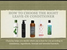 How to Choose a Leave-In Conditioner for Natural Hair