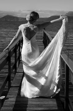 Photograph from my wedding in the north of Norway. Photograph by me/assistant. Mermaid Wedding, Norway, Photographs, Wedding Dresses, Fashion, Bride Dresses, Moda, Bridal Gowns, Fashion Styles