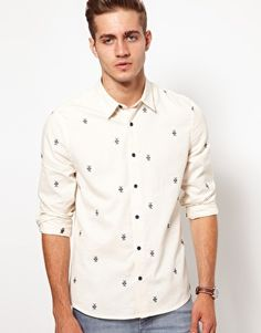 ASOS Shirt With Embroidery