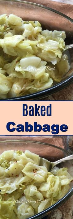 Baked Cabbage Such a simple side dish with so much flavor. Im always looking for new ways to fix vegetables. This was a winner! Real Food Recipes, Cooking Recipes, Healthy Recipes, Healthy Dishes, What's Cooking, Delicious Recipes, Healthy Foods, Keto Recipes, Veggie Dishes