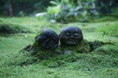 kyoto japan  三千院 わらべ地蔵
