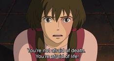 life is precious death tales of earthsea quotes Studio Ghibli Quotes, Studio Ghibli Movies, Ocelot, Totoro, Sad Anime, Anime Guys, Tales From Earthsea, Japon Illustration, Life Is Precious