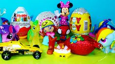 Disney Mickey mouse suprise Kinder Surprise Eggs and Surpise Eggs