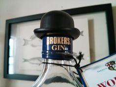 brokers gin wears quite a fancy hat....