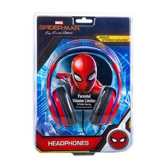 Let your youngster rock out with these stylish headphones on. The kid friendly sound levels help protect little ears and the adjustable headband means the headphones can grow as your child does. Spiderman Kids, The New Spiderman, Kids Headphones, Toy Cars For Kids, Animated Spider, Baby Girl Dress Design, Child Models, Lego Design, Boy Room