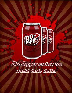 Dr.Pepper by ~frozenear on deviantART