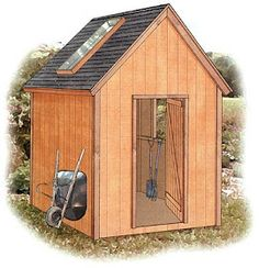 Free Woodworking Project Plans: Build A Storage Shed