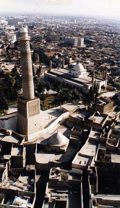 Life is choosen ( Architecture Courtyard, Mosque Architecture, Architecture Wallpaper, Art And Architecture, Iraq Map, Baghdad Iraq, Beautiful Sites, The Beautiful Country, Old Pictures