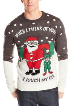 silly ugly Christmas sweater