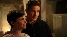 "David & Snow | #Snowing | ""New York City Serenade"" - Once Upon A Time"