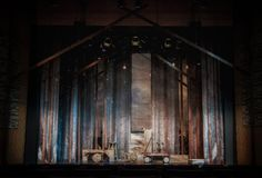 Into The Woods Fradd Theatre, Fire Island Pines, New York Scenic Design by Joey Mendoza August 2014