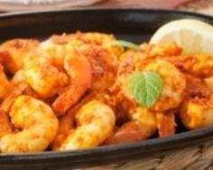 Colombo de gambas et de patates douces : http://www.cuisineaz.com/recettes/colombo-de-gambas-et-de-patates-douces-56713.aspx