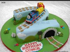 Tomas the train. I will slightly customize this cake :)