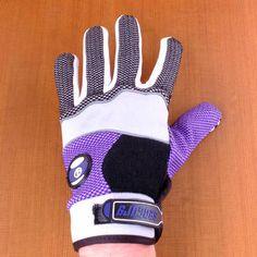 Sector 9 Apex Purple Slide Gloves Back