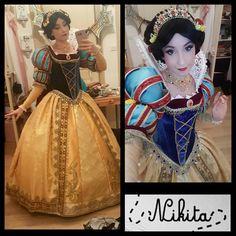 "4,780 Likes, 91 Comments - Nikita (@nikitacosplay) on Instagram: ""First full test of my Snow White costume #cosplay #costume #princess #disney #snowwhite #dress…"""