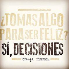 #Decisiones