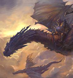 Dragon Knight by Steven Wang