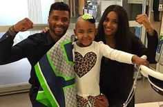 Ciara And Russell Wilson's Visit To The Seattle Children's Hospital Will Melt Your Heart
