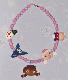 Doc McStuffins characters polymer clay by KieriousKreations, $25.00