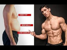 FAT LOSS 101 FOR MEN (Chest Fat, Belly, Love Handles!) - YouTube