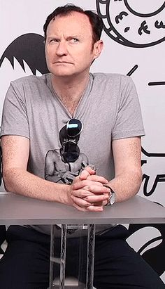 Mark Gatiss being amazing at SDCC 2016…