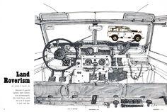 Ken Dallison, Car and Driver Magazine, Sep 1964 2048×1378 пикс