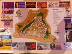Erice Tourism Map 2013