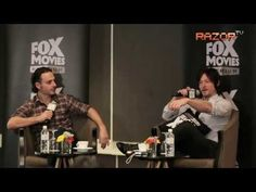 Andrew Lincoln and Norman Reedus - The Walking Dead stars shoot zombies in Singapore - YouTube