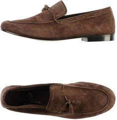 $358, Andrea Ventura Firenze Moccasins. Sold by yoox.com. Click for more info: https://lookastic.com/men/shop_items/332309/redirect