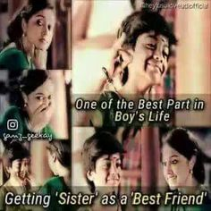Sister is one of the best part in life,Visit the post for more.