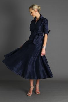 Pansy Skirt Long - Midnight Blue