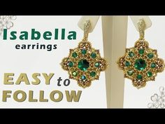 Sidonia's handmade jewelry - Tila beads necklace tutorial - YouTube