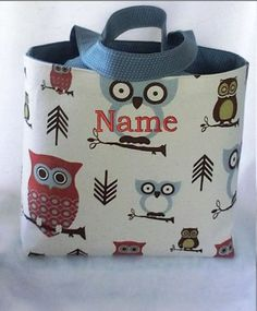 Tote Bag Fabric Handmade Tote Custom by RidgeTopEmbroidery on Etsy, $22.00
