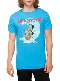 Disney lilo & stitch nani surfing t-shirt hot topic lilo and Lilo And Stitch Merchandise, Disney Merchandise, Disney Shirts For Family, Shirts For Teens, Hot Topic Disney, Disney Outfits, Disney Clothes, Disney Fashion, Alice In Wonderland Dress