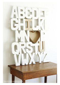 Como usar letras 3D na decoração | Decoração e Dicas