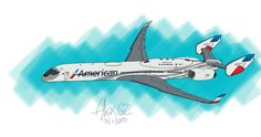 American Airlines - Boeing 717-X8