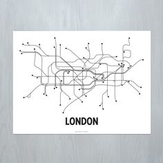 London, LinePosters, b&w series, Cayla Ferari & Jhon Breznichy