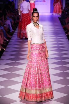 Lengha by Anita Dongre at Lakme Fashion Week 2014