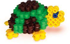 SES Iron on beads 3D animals #irononbeads #perlerbeads #strijkkralen #animals #dieren #diy #3D #schildpad #turtle