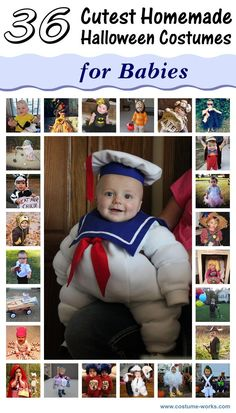 36 Cutest DIY Halloween Costumes for Babies @Mackenzie Young have you picked out baby B's costume yet?! ;)