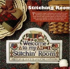 Stitching room Patrones punto de cruz (solo country) (pág. 30) | Aprender manualidades es facilisimo.com