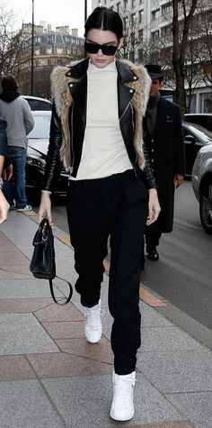 Look of the Day - January 27, 2015 - Kendall Jenner from #InStyle