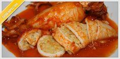 Ricetta Totani Ripieni   Cucinare alla napoletana